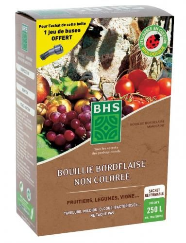 Bouillie bordelaise bio non color e uab ag bio 720 g - Desherbage bio efficace ...